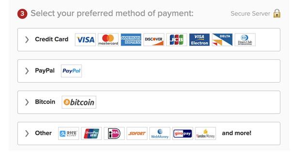 Payment ExpressVPN