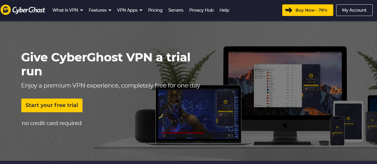 Best free trial vpn