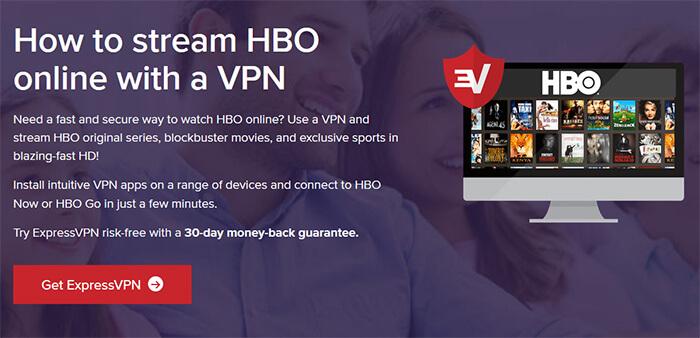 ExpressVPN HBO