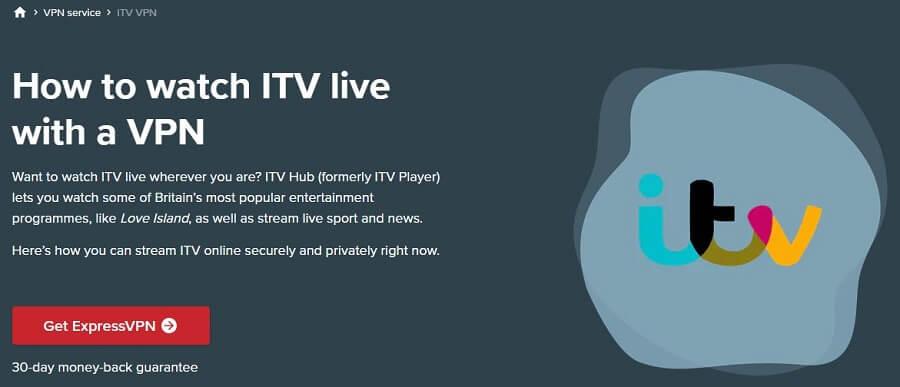 ExpressVPN ITV