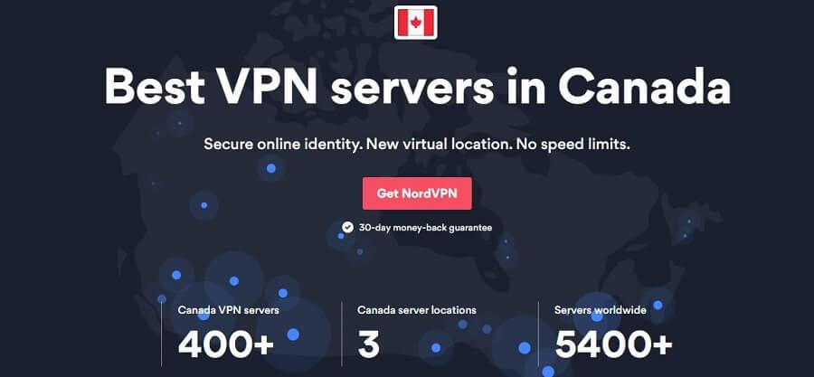 NordVPN Canada