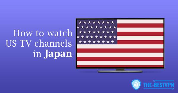US TV Japan