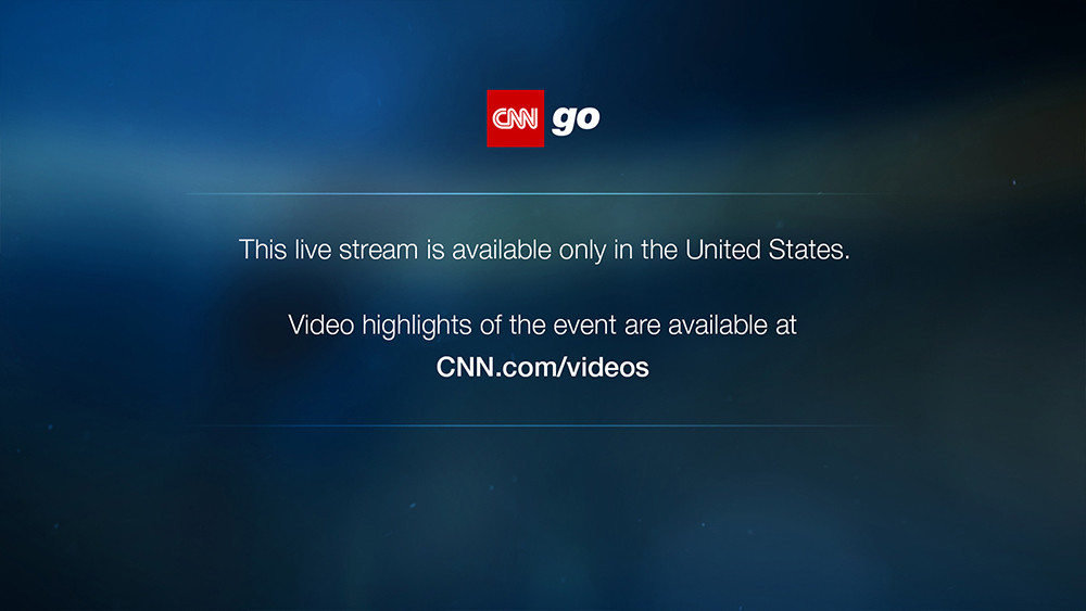 How to stream CNN outside of the USA