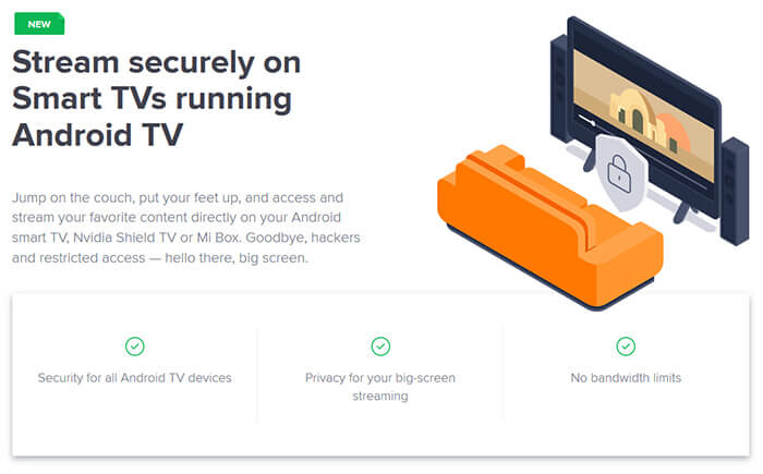 Avast SecureLine Android TV