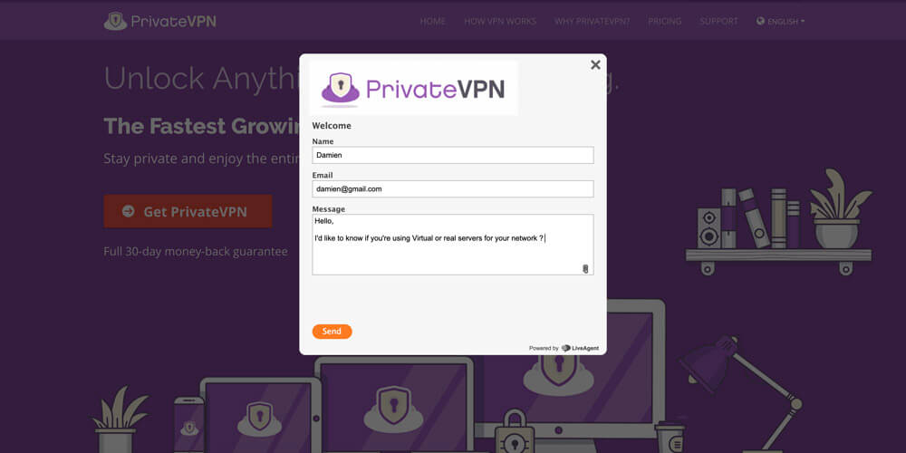 Contact-PrivateVPN