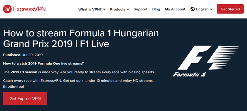 ExpressVPN F1