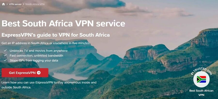 ExpressVPN South Africa