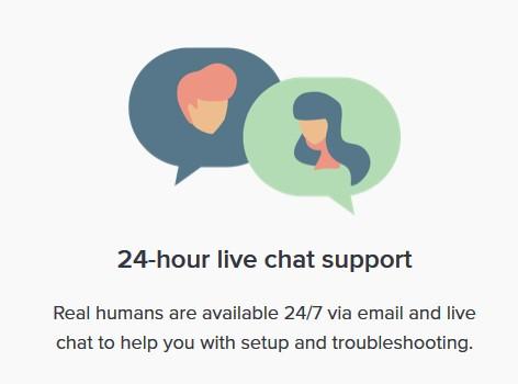ExpressVPN live support