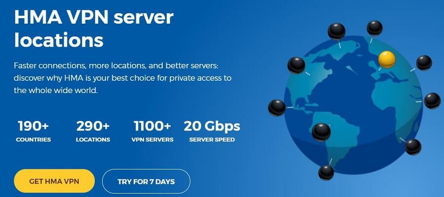 HMA Servers