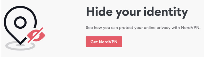 Hide IP with NordVPN