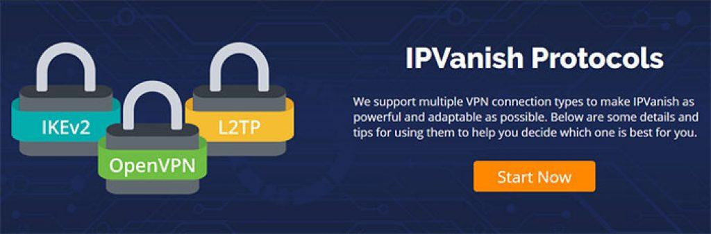 IPVanish protocols