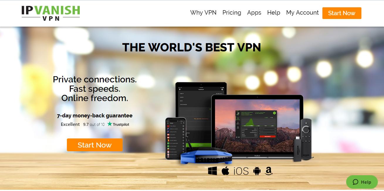 IPVanishVPN review