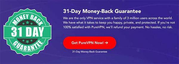 PureVPN money back