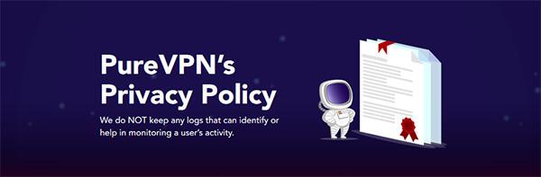 PureVPN privacy policy