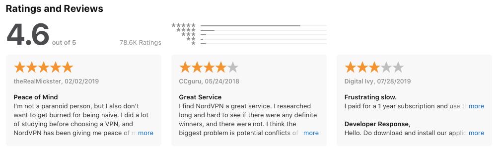 Review AppStore - NordVPN