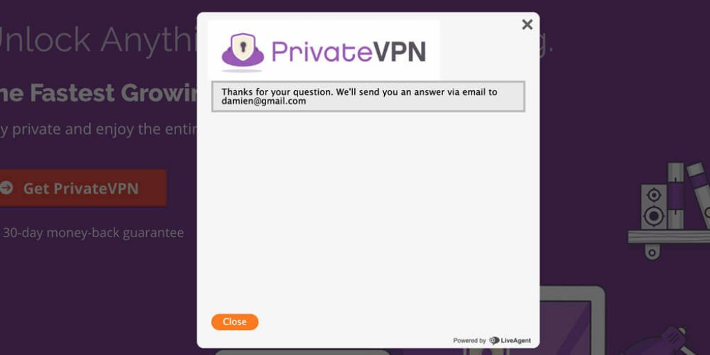 Support-PrivateVPN