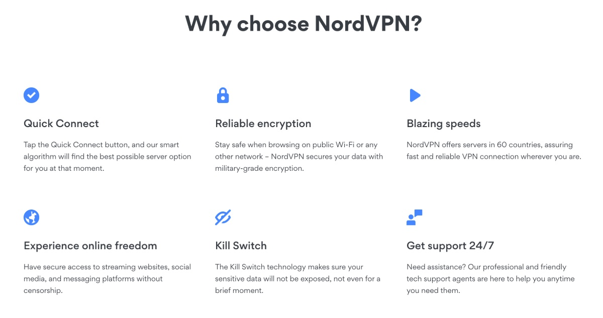 Why NordVPN is reliable