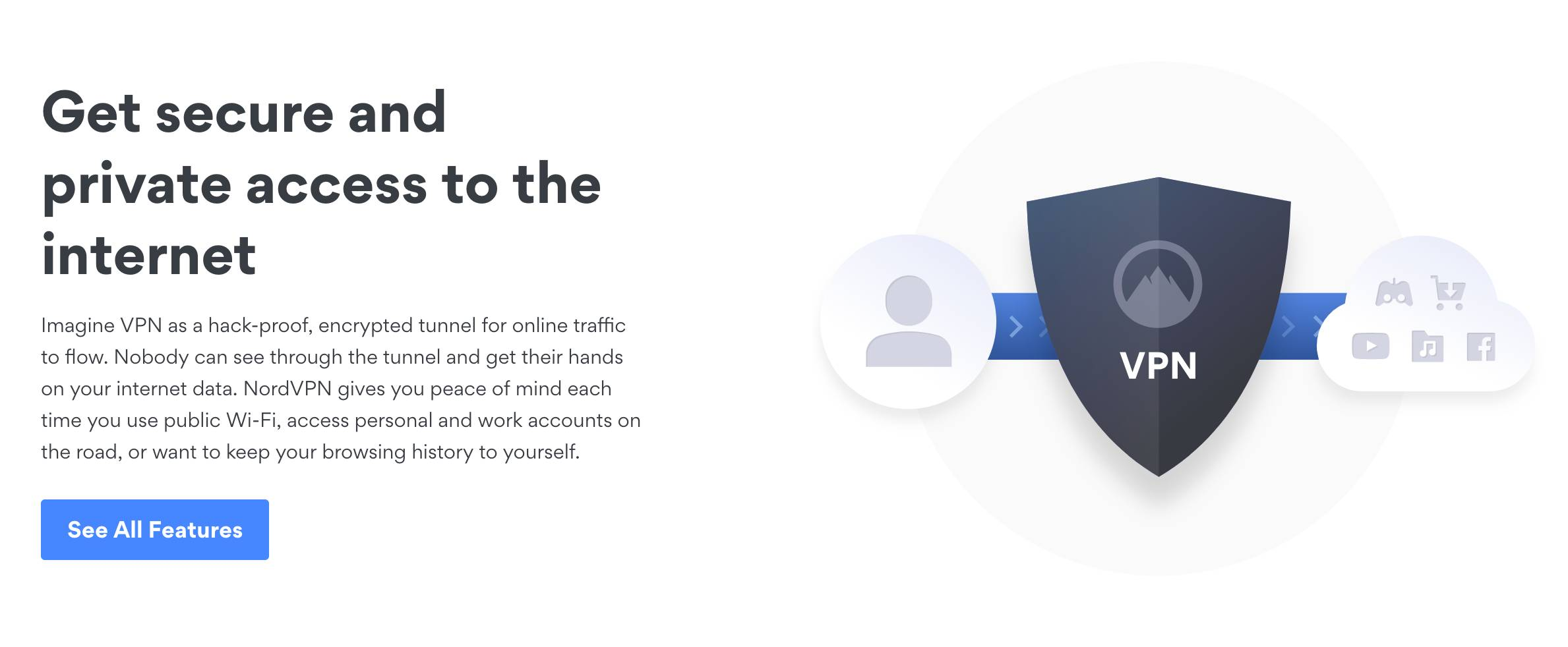 Choose NordVPN for its security
