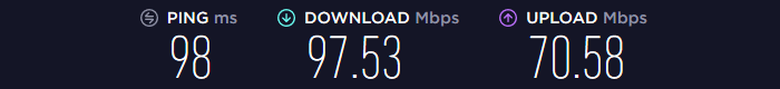 Astrill VPN Speed US