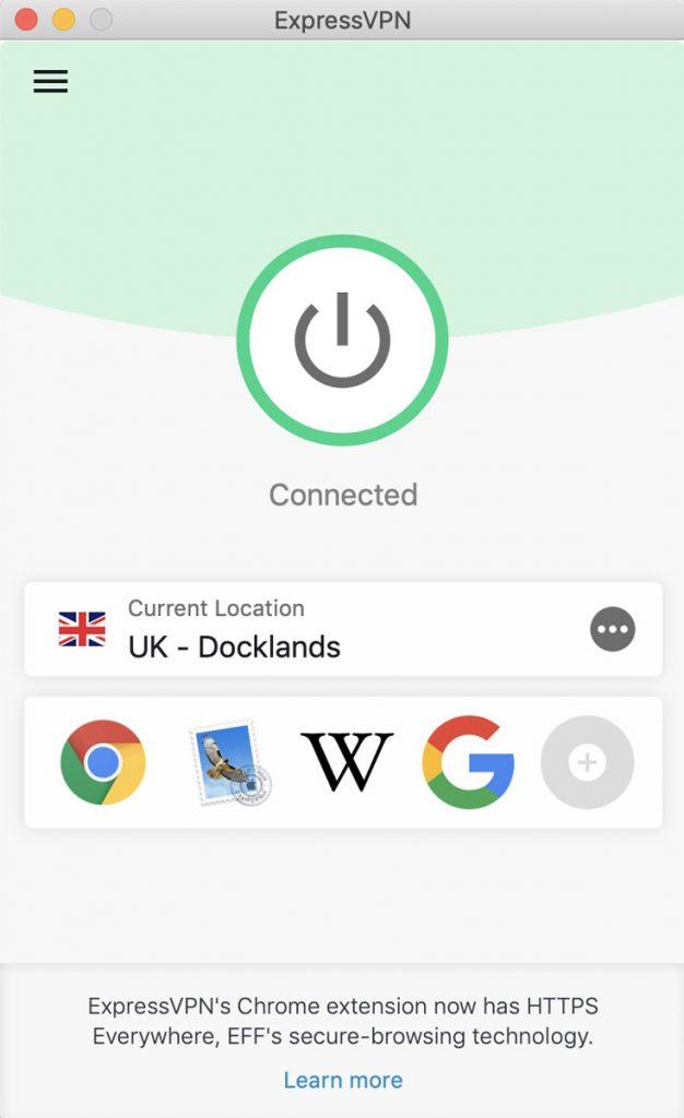 ExpressVPN UK server