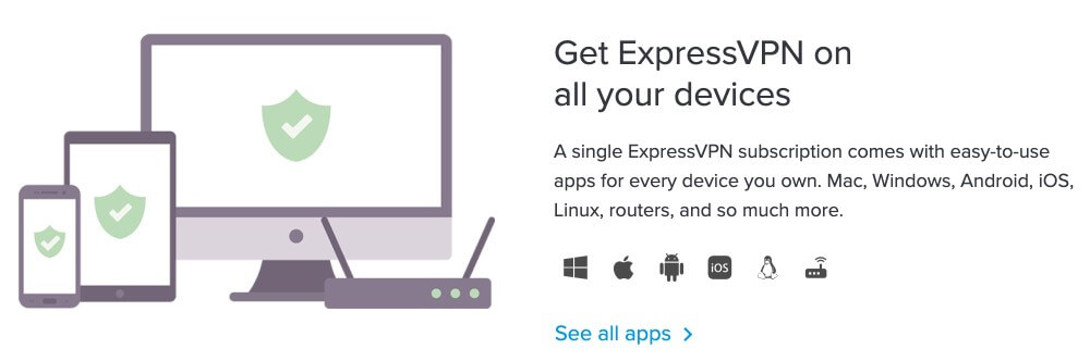 ExpressVPN for all your devices