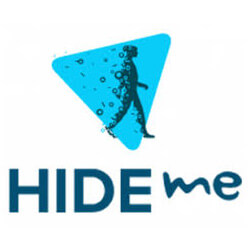 Hide me logo