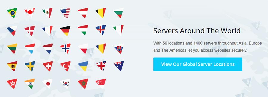 Hide me servers
