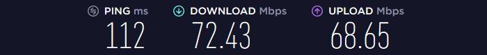 Ivacy VPN Speed US