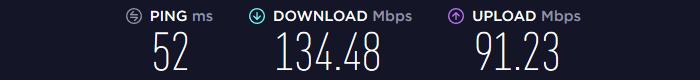 Mullvad VPN Speed EU