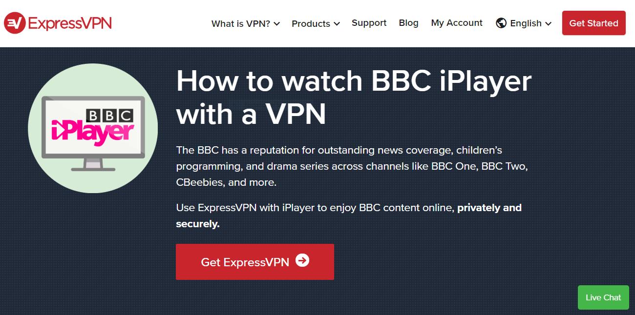 Netflix for unblocking BBC iPlayer