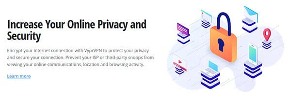 Online privacy VyprVPN