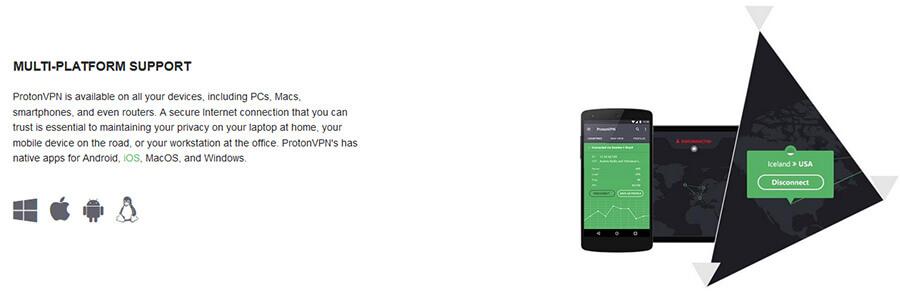 ProtonVPN multi-platform