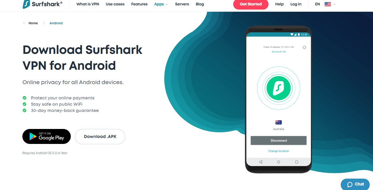 Surfshark-for-Android