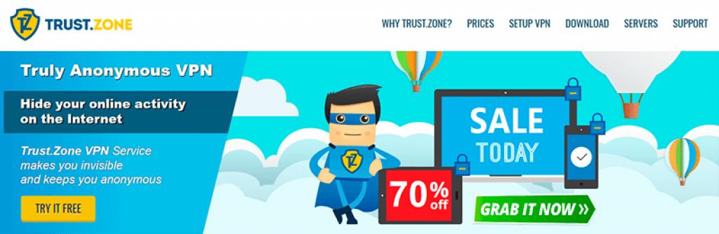 Trust Zone Cheap VPN