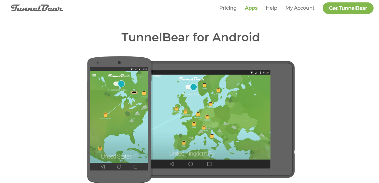 TunnelBear-for-Android
