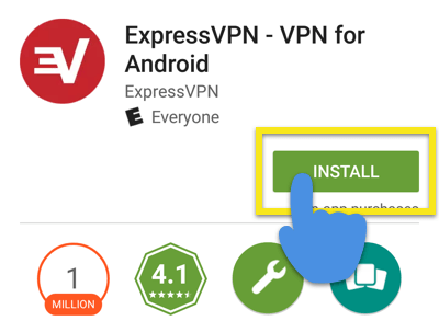 setup ExpressVPN on Android