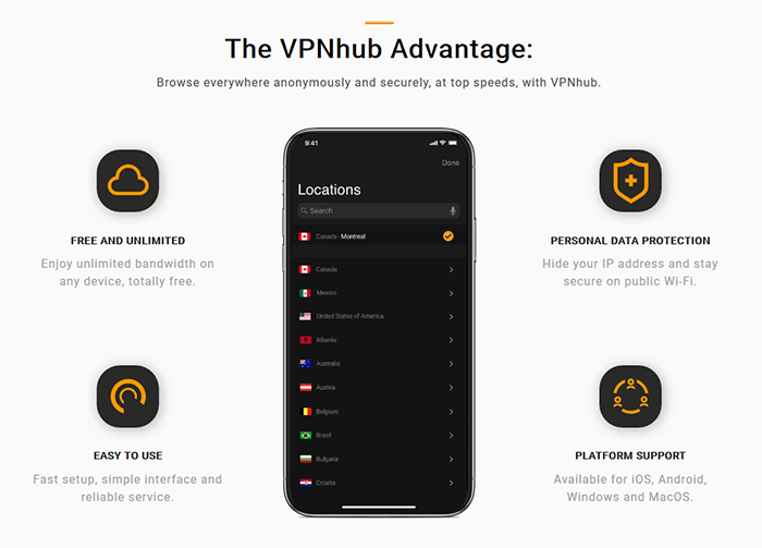 Advantage VPNhub