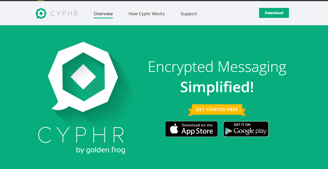 Cyphr messaging