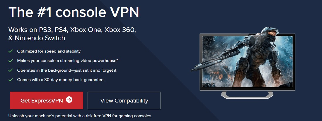 ExpressVPN best VPN for Xbox