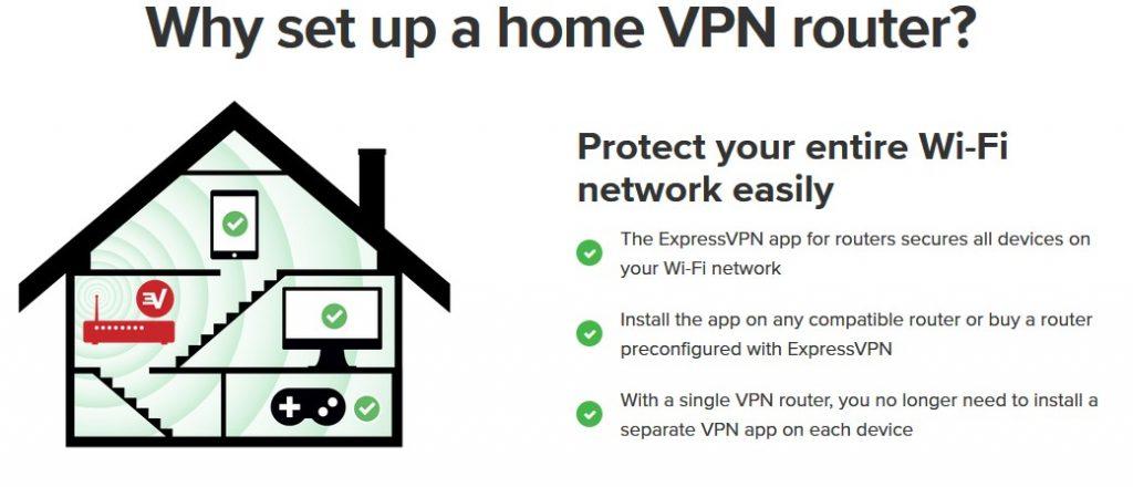 ExpressVPN best VPN for router