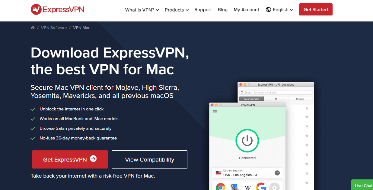 ExpressVPN for macos