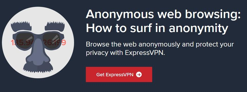 ExpressVPN anonymity