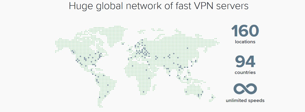 ExpressVPN thousands of servers