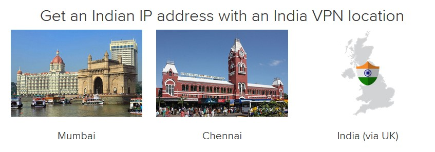 Get an IP address in India with ExpressVPN