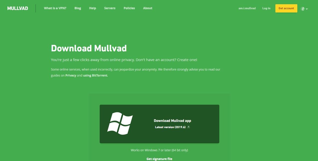 Mullvad VPN device compatibility