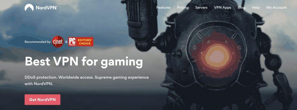 NordVPN best VPN for gaming