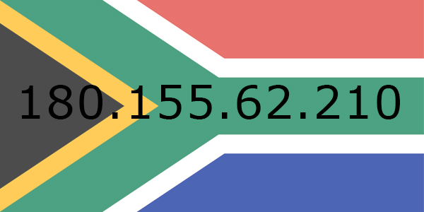 South African IP address