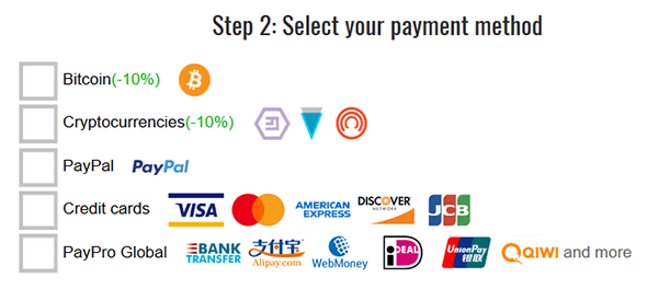 Trust Zone payment method