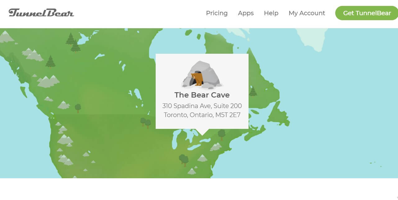 TunnelBear jurisdiction
