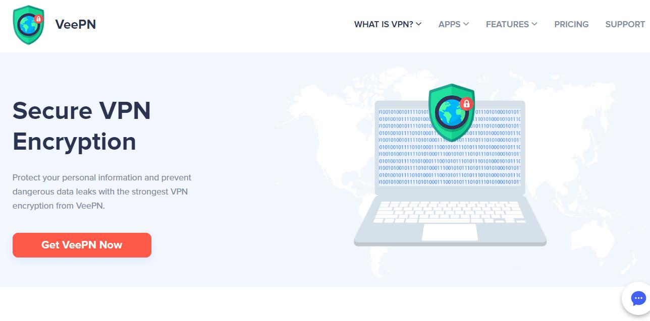 VeePN encryption